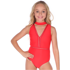 Girls Fire and Ice Leotard