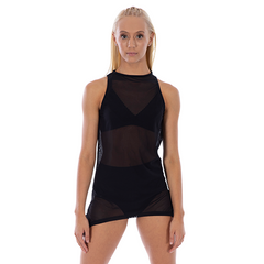 Girls Focus Mesh Dress