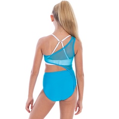 Ladies Horizon Mesh Leotard