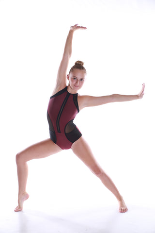 Ladies Kapow Leotard-LEOTARDS-Cosi G Studiowear