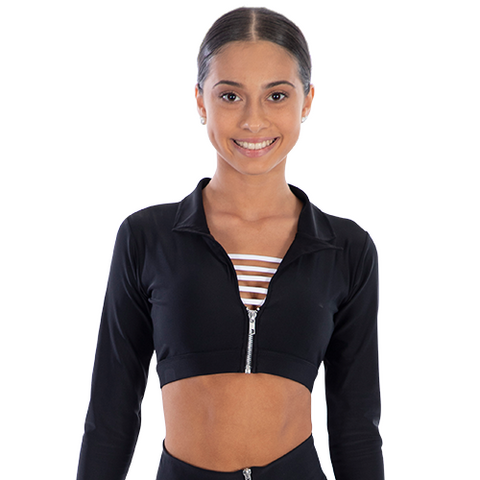 Ladies On The Edge Cropped Jacket