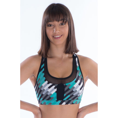 Ladies Puzzle Crop Top-CROPS-Cosi G Studiowear