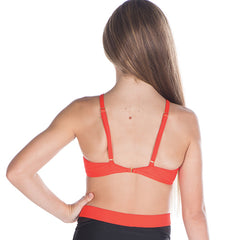 Girls Ravel Crop-Girls Dance Crops-CosiG Studiowear