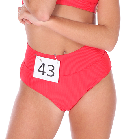 Ladies Audition High Legged Undie