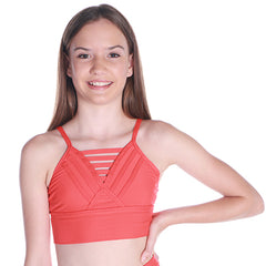 Girls Release Crop-Girls Dance Crops-CosiG Studiowear