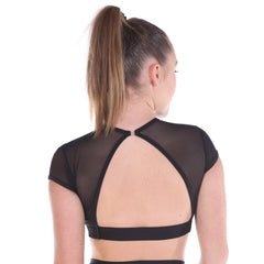 Ladies Sentiment Crop Top-CROPS-Cosi G Studiowear