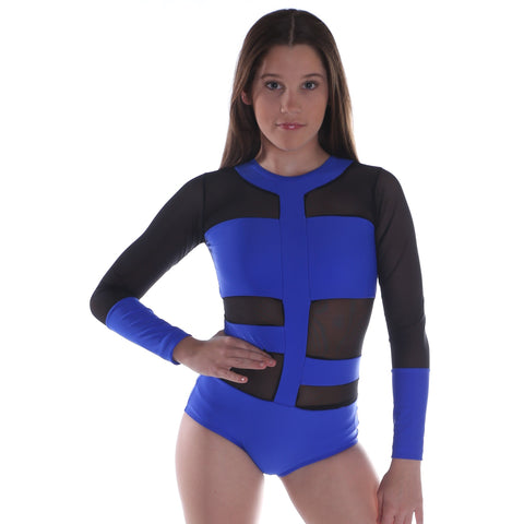 Ladies Streak Leotard-LEOTARDS-Cosi G Studiowear