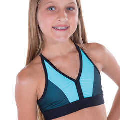 Ladies Survivor Crop Top-LADIES DANCE CROPS-CosiG Studiowear