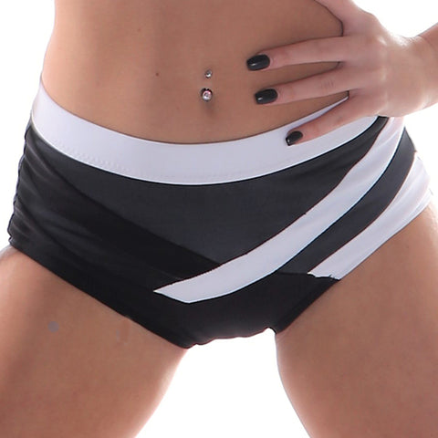 Ladies Tic Tac Mesh Boy Leg Undie