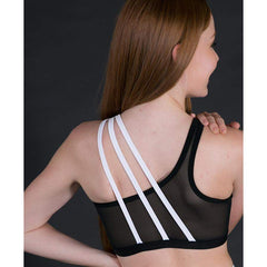 Girls Zest Crop Top-Girls Dance Crops-CosiG Studiowear