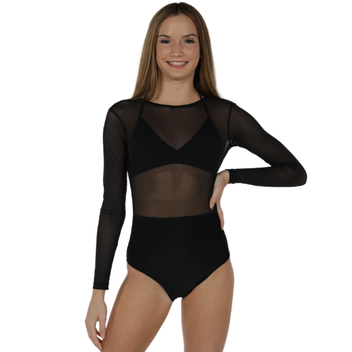 Girls Epic Mesh Leotard