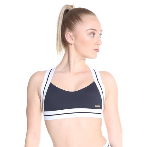 Ladies Evolve Crop Top-CROPS-Cosi G Studiowear