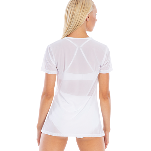 Ladies Shakira Long Mesh Shirt