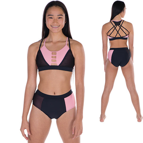 Girls Unique Crop and Undie Set-Girls Set-CosiG Studiowear