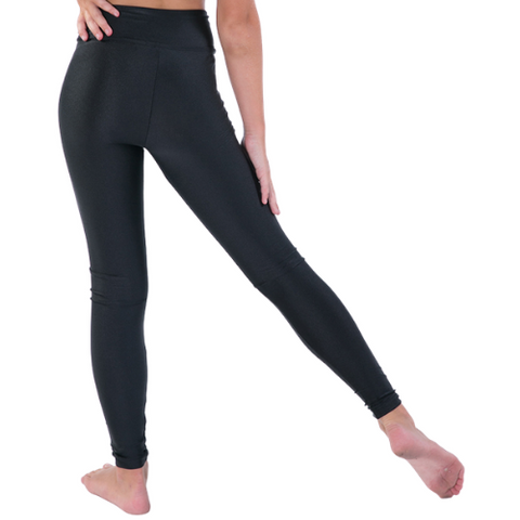 Girls Zipped Active Tights