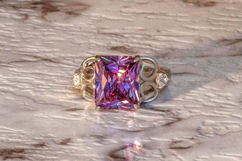 Raphael's Locket Amethyst February Birthstone Ring