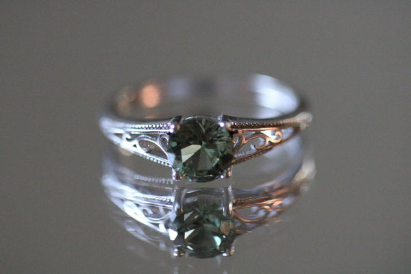 Deep Woods Dryad Emerald May Birthstone Ring
