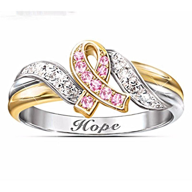 Glaring Hope December Birthstone Ring