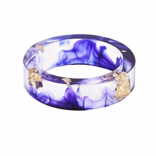 Ocean Treasure February Birthstone Ring