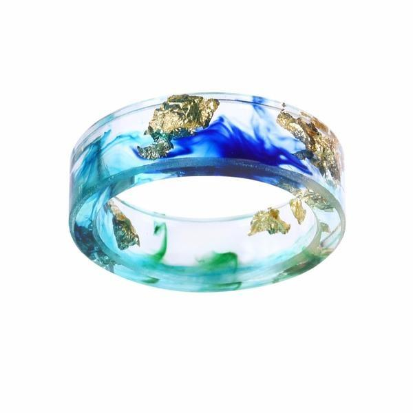 Ocean Treasure September Birthstone Ring
