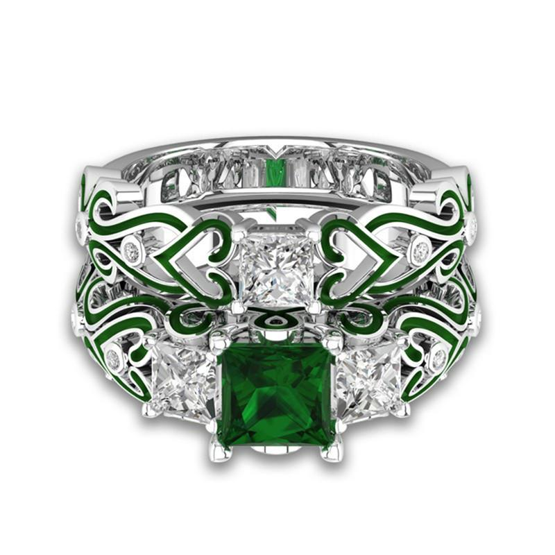Emerald JEM May Birthstone Ring