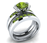 Royal Sphere Peridot August Birthstone