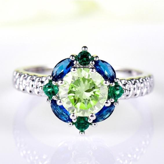 Royal Mandala Peridot August Birthstone