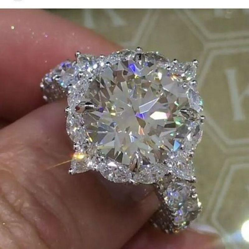 Sparkling Queen Diamond April Birthstone