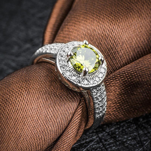 Dashing Peridot August Birthstone