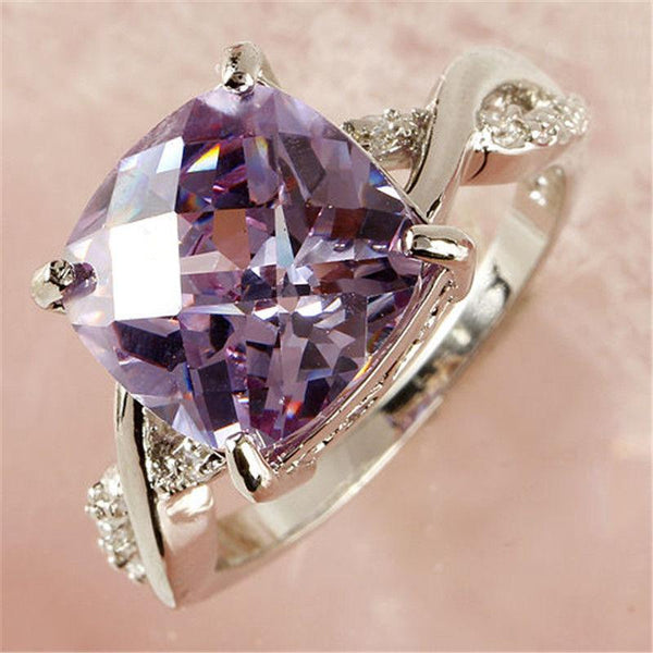 Ornate Amethyst February Birthstone