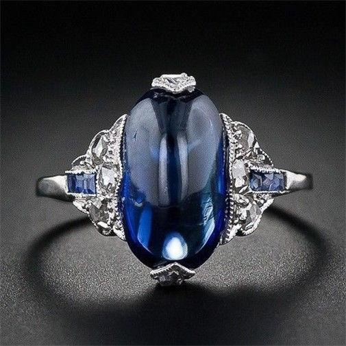 Glistening Governess Sapphire September Birthstone