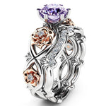 Blooming Chic Amethyst February Birthstone