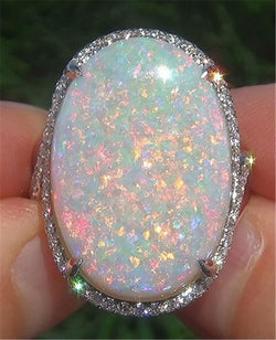 Spacious Allure Opal October Birthstone