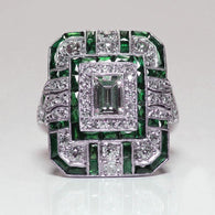 The Big Refined Naturale Emerald May Birthstone