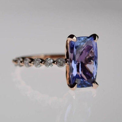 Blue Ocean Tanzanite December Birthstone