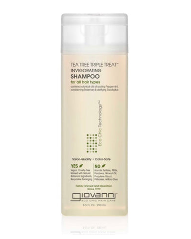 TEA TREE TRIPLE TREAT™ INVIGORATING SHAMPOO