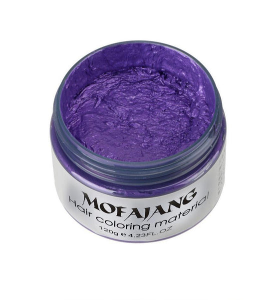 Mofajang Temporary Color Hair Wax 4oz