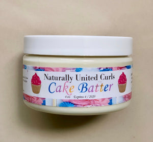 Cake Batter leave-in conditioner 4oz