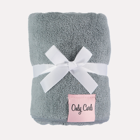 Only Curls Hair Towel - GREY