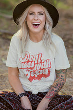 don't mess with texas t-shirt, don't mess with texas shirt, vintage texas shirt, retro texas tee, texas clothing, texas fashion, texas style