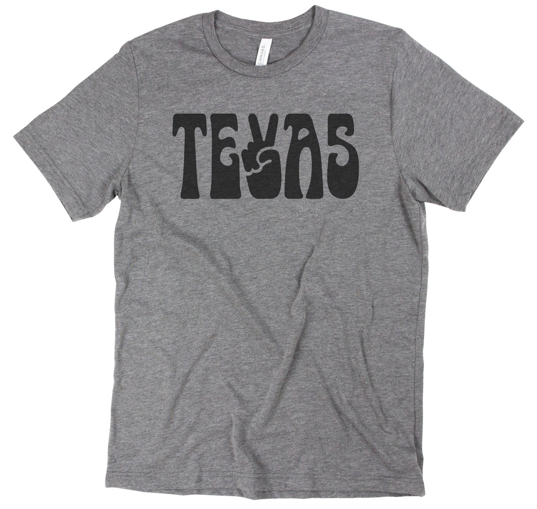 Peace Texas - Grey