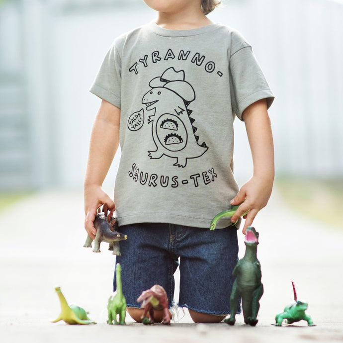 texas tee, texas t-shirt, t-rex shirt, youth texas tee, youth texas t shirt, texas tacos shirt