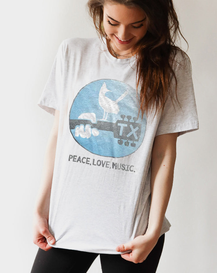 TEXAS MUSIC T-SHIRT