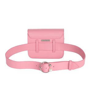 Ariel Pink Leather Handbag