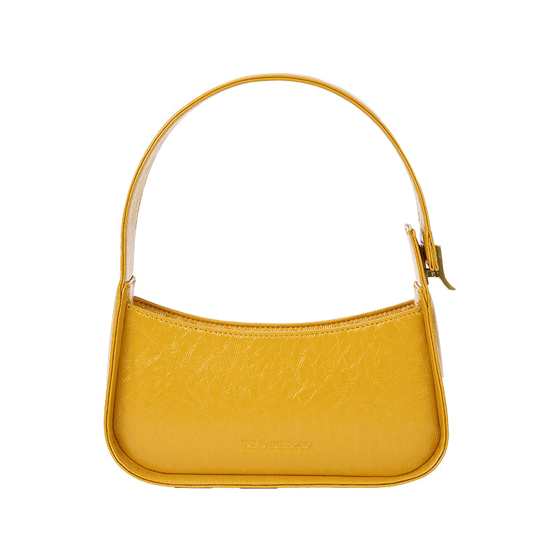 Presell- Hollow PU Baguette Bag