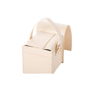 DUMBO Beige Lambskin Top Handle