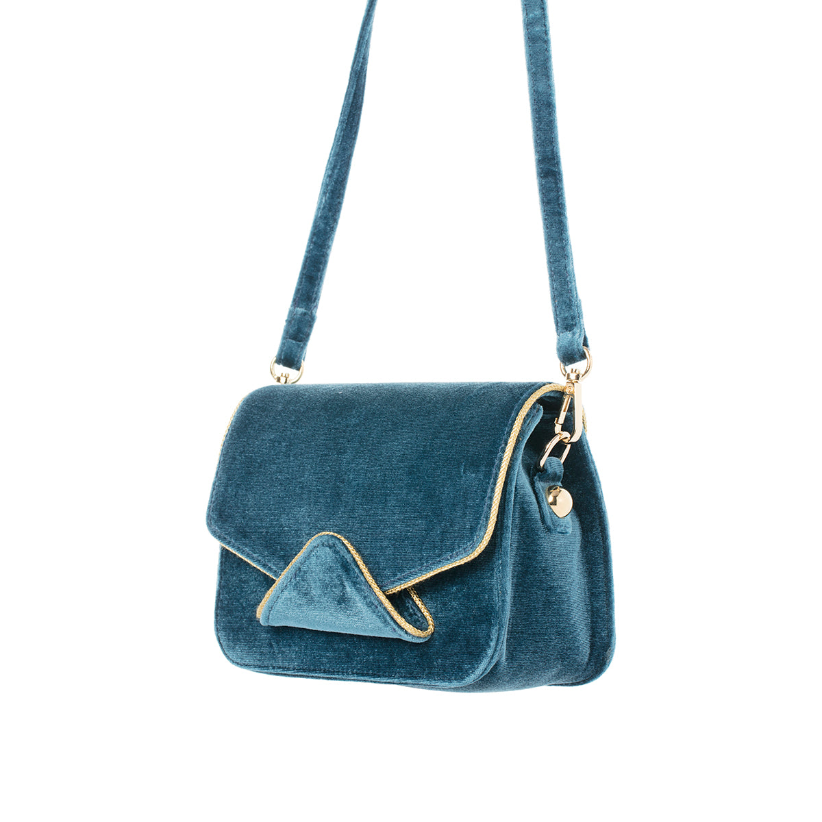 FIDI Blueberry Twist  Velvet Crossbody