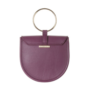 O-Ring Aster  Leather Handbag