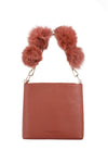 BUBBLE  Handbag/Cross Body Rosewood