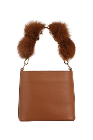 BUBBLE  Handbag/Cross Body Caramel